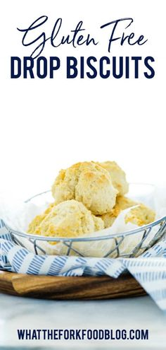 Easy Gluten Free Drop Biscuits are great with dinner or turned. Best Picture For Gluten Free Appet Gluten Free Appetizers, Gluten Free Recipes For Breakfast, Best Gluten Free Recipes, Gluten Free Breakfasts, Gluten Free Diet, Gluten Free Baking, Gluten Free Desserts, Gf Recipes, Bread Recipes
