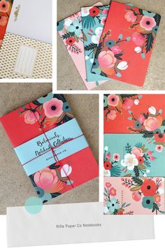 Wedding color scheme and guest book