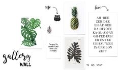 HOW TO: Gallery Wall mit Prints   mimiloves Gallery Wall, Prints, Beauty, Diy, Scandinavian Design, Decorations, Clean Foods, Beleza, Do It Yourself