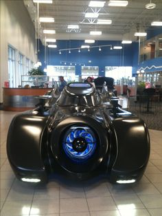 THE Batmobile today at Howdy Honda! Come check it out!