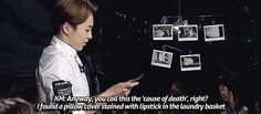 ''deductive reasoning'' (http://xiuminpanntranslations.tumblr.com/post/117743820553/150429-crime-scene-2-xiumins-briefing-part-1) (gif: https://31.media.tumblr.com/b6e675955ea996c0d4593db19456212a/tumblr_nnpmtzR13o1s3z68no2_500.gif) exo xiumin gif <<< Thought Xiumin couldn't get hotter then BOOM! Smarty Pants!Xiumin happened^.^