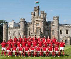 Hensol Castle wedding venue in Glamorgan - Welsh Rugby Union Sqaud | CHWV