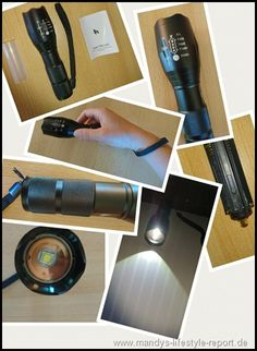 Wasserdichte Taschenlampe 1000 Lumen von HoochTech - Kreiere Dein Leben-Mandys Lifestyle Report