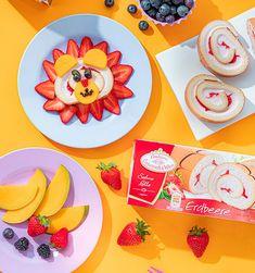 Kuchen für Kinder mal anders: Löwengesicht Guest Gifts, Birthday Fun, Plates, Tableware, Party, Kids, Decor, Children Cake, Recipes For Children