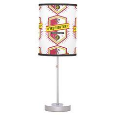 Fire Department Crest Table Lamp firefighter decor ideas, firefighter babies, preschool firefighter #firefighterwife #culvercityfire #ff, back to school, aesthetic wallpaper, y2k fashion