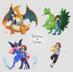 Kiawe Pokemon, Pokemon Kalos, Pokemon Poster, Pokemon Fusion Art, First Pokemon, Pokemon Comics, Cute Pokemon, Pokemon Ash Ketchum, Papercraft Pokemon