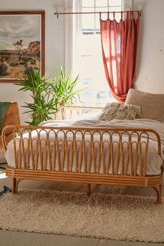 Slide View: 1: Canoga Rattan Bed