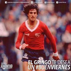 Buenos días a todos los rojos!! #BuenViernes! #RicardoGiusti, #IdolosIndependiente, #Independiente