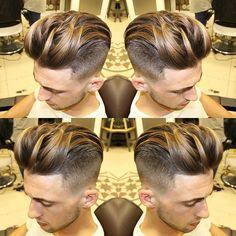 Haircut by agusbarber_ http://ift.tt/1Q5lnMn #menshair #menshairstyles…