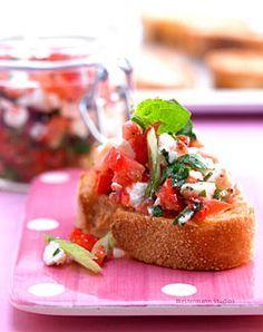 Tomaten-Bruschetta - Rezepte