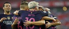 برشلونة يعود بفوز ثمين من ملعب سان ماميس