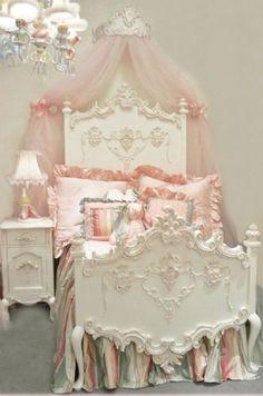 vintage bedroom posts - Magical Home Inspirations