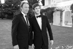 Mads Mikkelsen, Gaspard Ulliel, amfar Cannes 2013