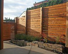 Gartenzaun holz sichtschutz  Eleganter Design Sichtschutz modern holz sichtschutz | mach ich ...
