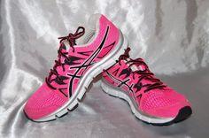 Asics Sneakers Pink Gel Blur 33 Athletic Shoes 8 #Asics #RunningCrossTraining