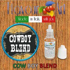 E-Liquide Cowbow Blend de Flavour Art, sur Top Cigarette Electronique