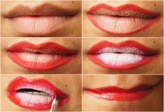 RED OMBRE DESIGN