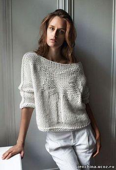 Купить платье свитер крупной вязки