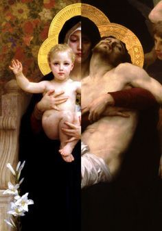 Ghostcowgirl: blaksynagogue: Mother Mary and Jesus Christ-...