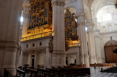 Granada Cathedral, Spain - Great Organs of the Nave 2
