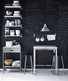 Tablica w kuchni: ciekawa dekoracja czy nudny dodatek? | Lovingit