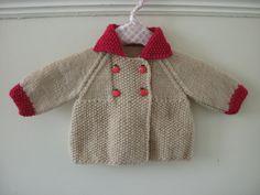 retro style baby coat