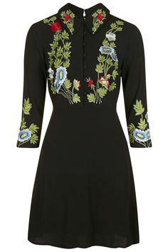 Photo 1 of Embroidered Collar Dress