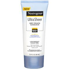 I'm not a big fan of Neutrogena now, because of Hyram. I particularly don't like this sunscreen is because it's a chemical sunscreen. Beauty Routine Tutorial, Pale People, Uva Rays, Best Sunscreens, Broad Spectrum Sunscreen, Neutrogena, Active Ingredient, Green Eyes, Lotion