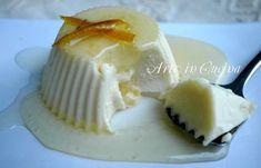 Panna cotta al limone ricetta dolce veloce | Arte in Cucina