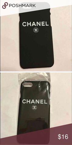 iPhone 📱 7 c c case Cute hard black c c case for iPhone 📱 7 brand. New ,,,🎈🎈🎈last one Accessories Phone Cases