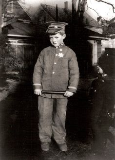 John Kennedy at about five years old
