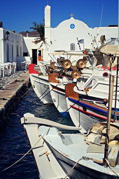 Naoussa harbour, Paros, Greece