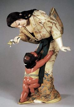 Japanese art doll (sosaku-ningyô)