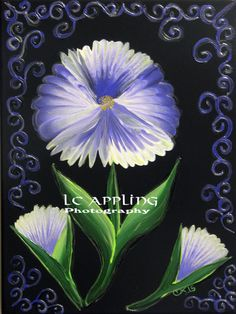 "Large Flower & Filigree Digital Print 10"" x 14"" by LCApplingPhotoArt on Etsy"