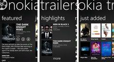 Nokia Trailers para Nokia Lumia 900 / 800 / 710 / 610 http://www.aplicacionesnokia.es/nokia-trailers-para-nokia-lumia-900-800-710-610/