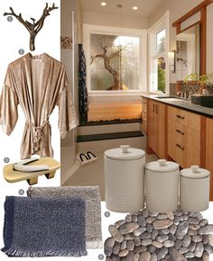 Transform your #bathroom into a tricked-out, zen-like #spa