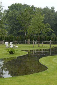 landscape and garden architecture by stijn cornilly.   teich, Garten Ideen
