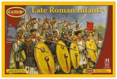 :: Arthur and his men may well have been remnants of the Roman Empire :: Late Roman Infantry (plastic)