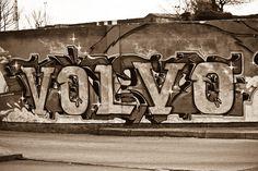 Graffiti Artist With Good Taste Volvo C Graffiti Artists Love Art Brick
