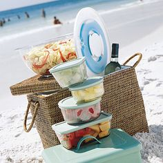 Pack the Perfect Picnic: make sure you've covered the basics of keeping food properly chilled, handling leftovers, and ensuring that your eating area and hands are clean. A good rule of thumb? Upon returning home, if the ice in the cooler has melted, the leftovers are likely no longer cool enough to be considered safe to eat. [cont.]