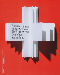 Pierre Mendell - Swiss book design poster