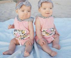 taytum and oakley Cute Baby Twins, Twin Baby Girls, Twin Babies, Baby Love, Baby Kids, Amelie, Tatum And Oakley, Baby Barbie, Restoration Hardware Baby