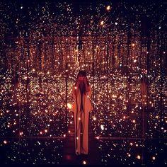 Infinity Mirrored Room, Yayoi Kasuma