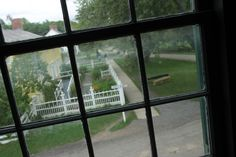 I took this photo from the Cook's Tavern and Livery building in the Upper Canada…