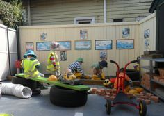 Busy in the Workshop @ New Horizons Preschool