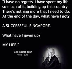 Legendary Founding Father Harry Lee Kuan Yew of Singapore [16 September 1923 – 23 March 2015] | Mon Ange