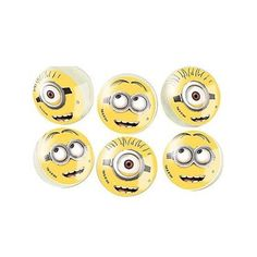 Bouncy balls are a party favourite as they make great party bag fillers, game prizes or fillers inside a pinata. Make your Despicable Me themed party a hit with