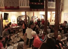 Taos Inn Lobby can get rockin'! Photo Jim Cox