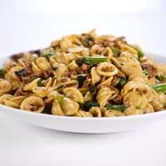 Sausage & Broccoli Rabe Pasta. (Easy-to-make pasta with spicy sausage ...