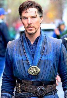 Doctor Strange beautiful costume detail.